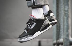 Air Jordan 3 Black Cement • KicksOnFire.com