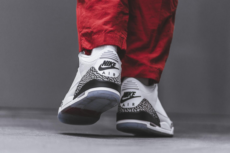 sale retailer 8b632 8e51e Air Jordan 3 White Cement NRG (Free Throw Line ...
