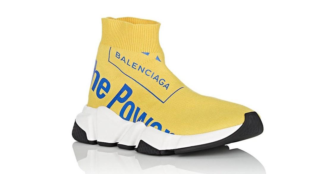 The Balenciaga Speed Trainer The Power
