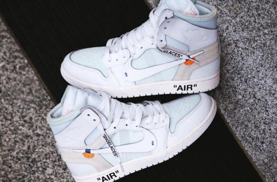 various colors d19b8 f4ceb OFF-WHITE x Air Jordan 1 White • KicksOnFire.com