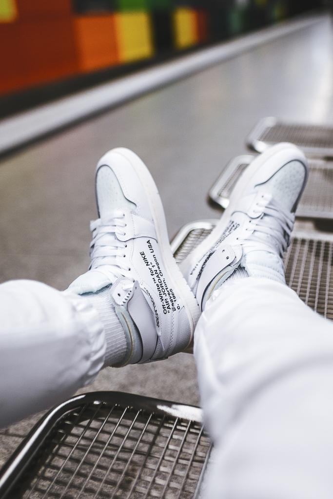 various colors 7dce3 30942 OFF-WHITE x Air Jordan 1 White • KicksOnFire.com
