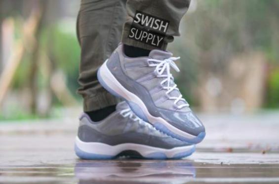 release date: 52847 8c29f Air Jordan 11 Low Cool Grey • KicksOnFire.com