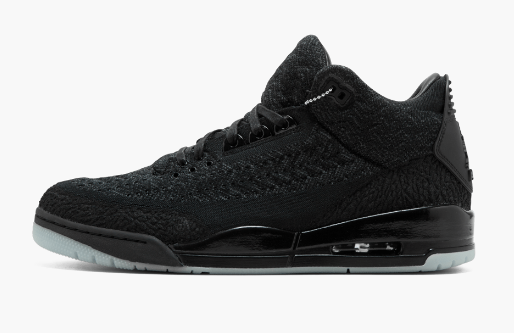 competitive price ce8ad d7bb2 Air Jordan 3 Flyknit Black • KicksOnFire.com