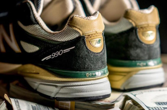 detailed look a9941 d00c6 The YCMC x New Balance 990v4 Benjamin Bread Releases This ...