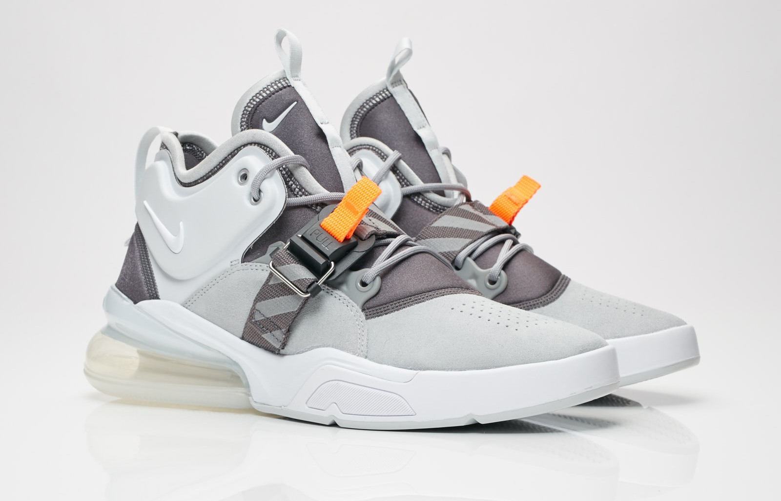 reputable site 8eeca 4dafd Look For The Nike Air Force 270 Wolf Grey Now • KicksOnFire.com