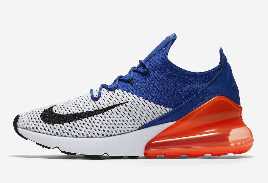 watch 75db5 d8f83 Release Date: Nike Air Max 270 Flyknit Racer Blue Total ...