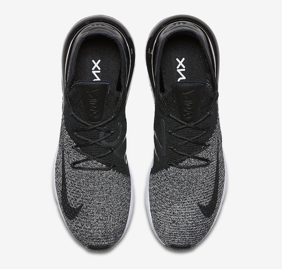 sale retailer 02b80 6e0f3 Release Date: Nike Air Max 270 Flyknit Oreo • KicksOnFire.com