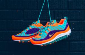 Nike Air Max 98 Cone • KicksOnFire.com
