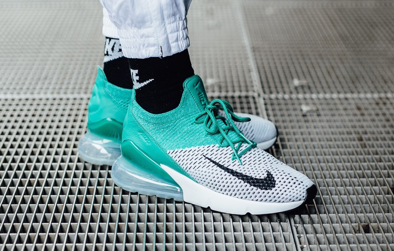 low priced 9387a 2cde6 Get Ready For The Nike WMNS Air Max 270 Flyknit Clear ...
