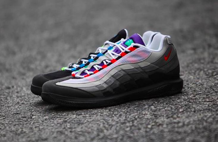 huge selection of 08dde d2dbb Release Reminder: NikeCourt Vapor RF x Air Max 95 Greedy ...