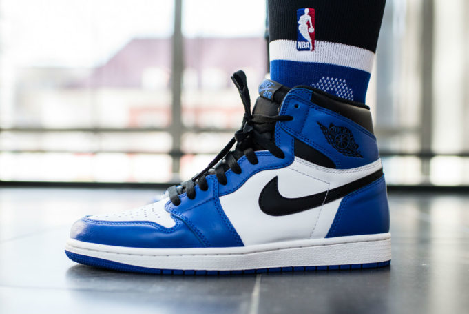 new product 2f165 aac56 Set to drop this weekend, here s an on-feet look at the Air Jordan 1 Retro  High OG Game Royal.