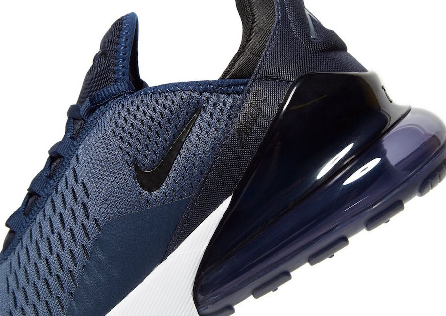 The Nike Air Max 270 Navy And Black Is A JD Sports Exclusive ...