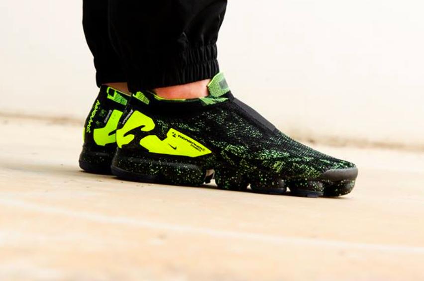separation shoes 70671 d90b7 ACRONYM x Nike Air VaporMax Moc 2 Black Volt Is Now ...