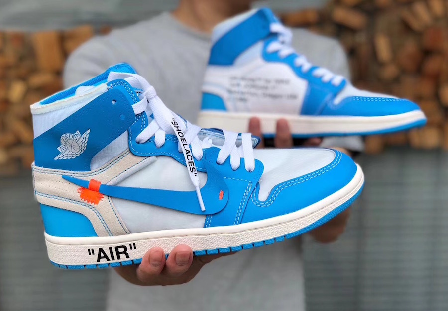 air jordan 1 off white blue price