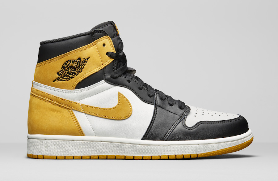 low priced 71175 96a54 Air Jordan 1 Retro High OG Yellow Ochre (Best Hand in The Game Collection)  • KicksOnFire.com