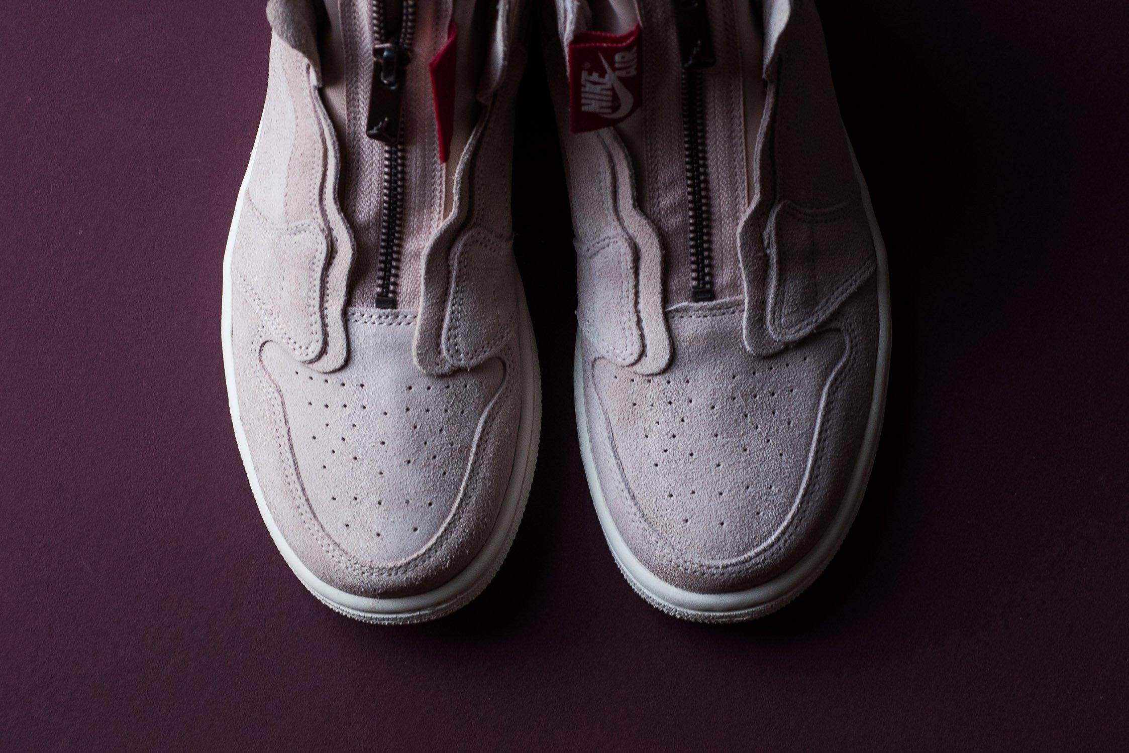 wylot nowy design nowy haj The Air Jordan 1 WMNS High Zip Particle Beige Just Released ...