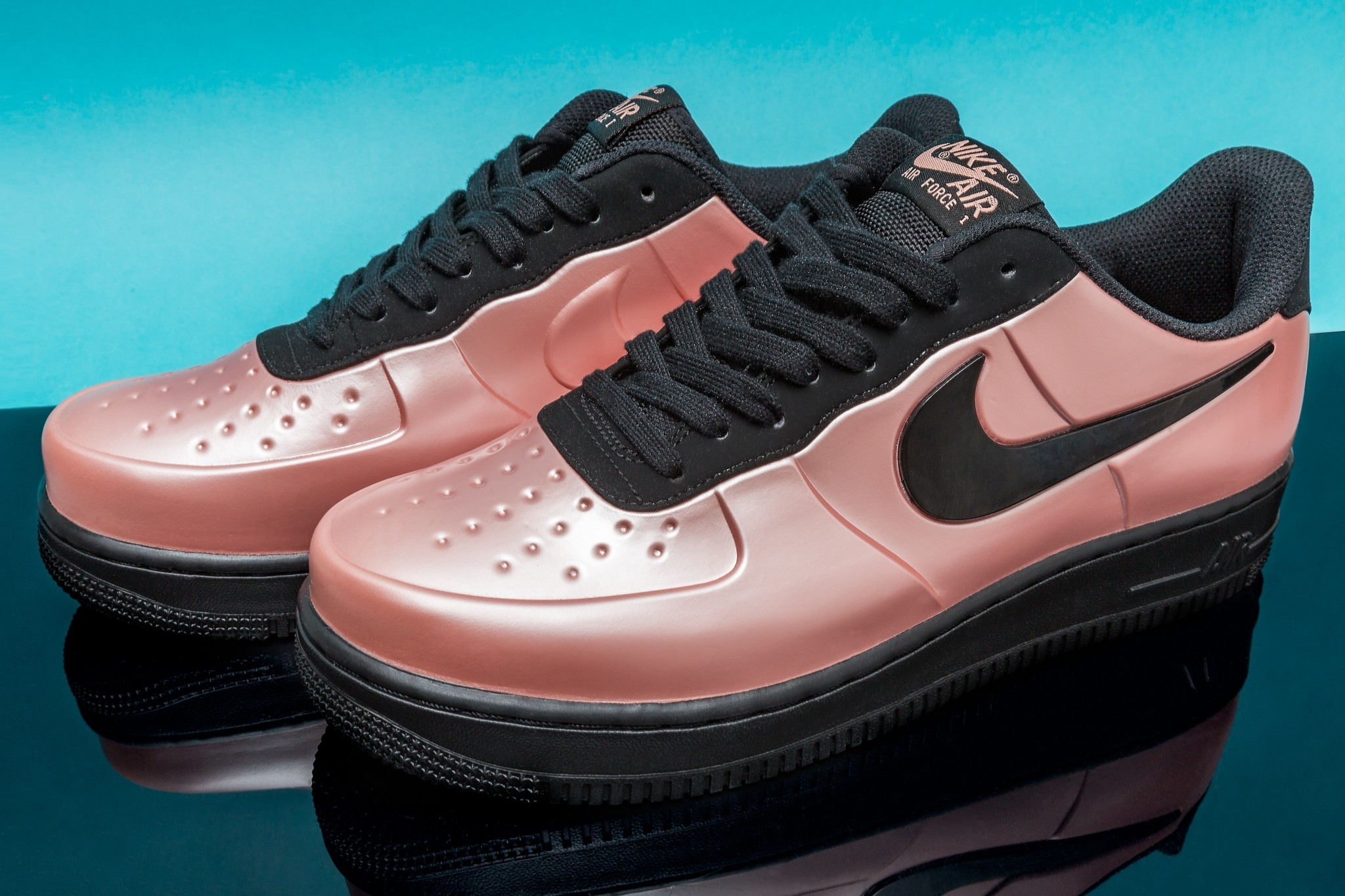 Now Available: Nike Air Force 1 Foamposite Pro Cup Coral