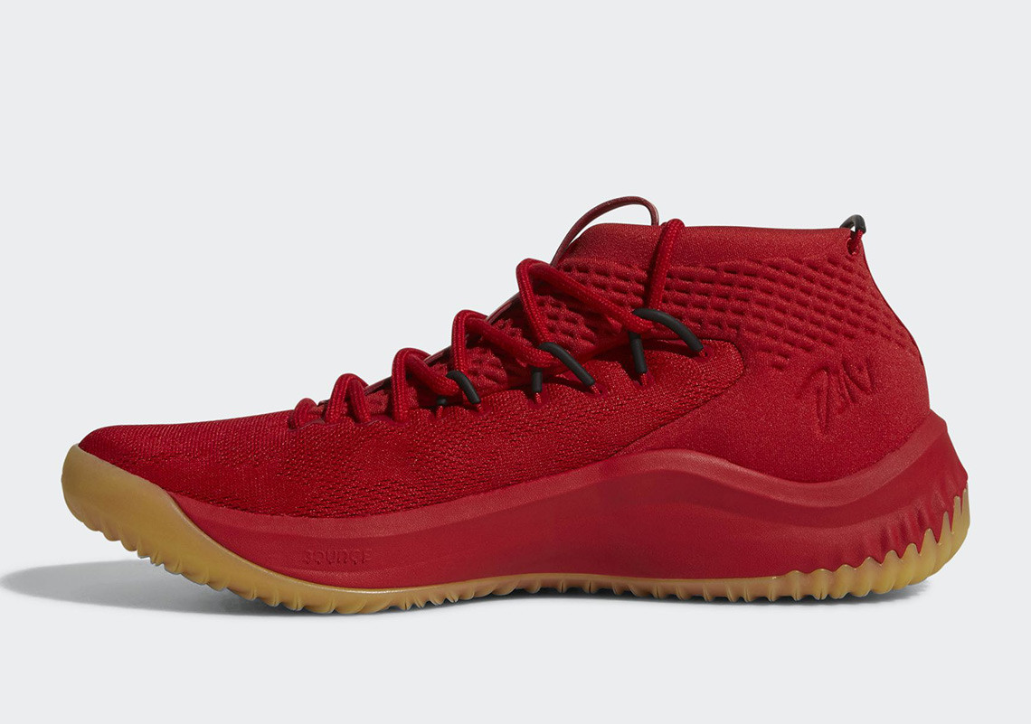 Release Date: adidas Dame 4 Red Gum