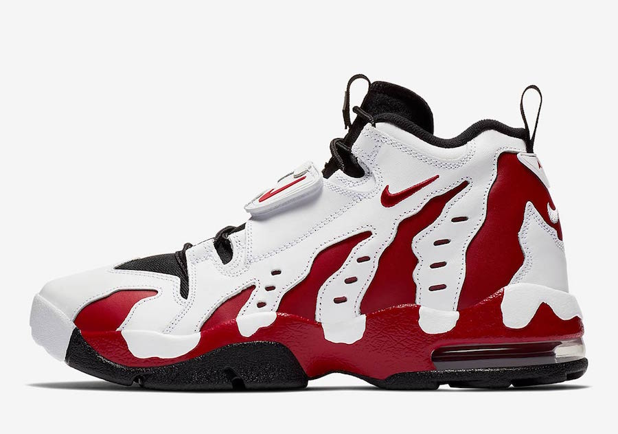 Official Images: Nike Air DT Max 96 Varsity Red