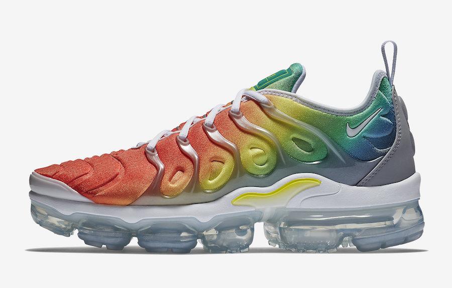 The Nike Air VaporMax Plus Rainbow