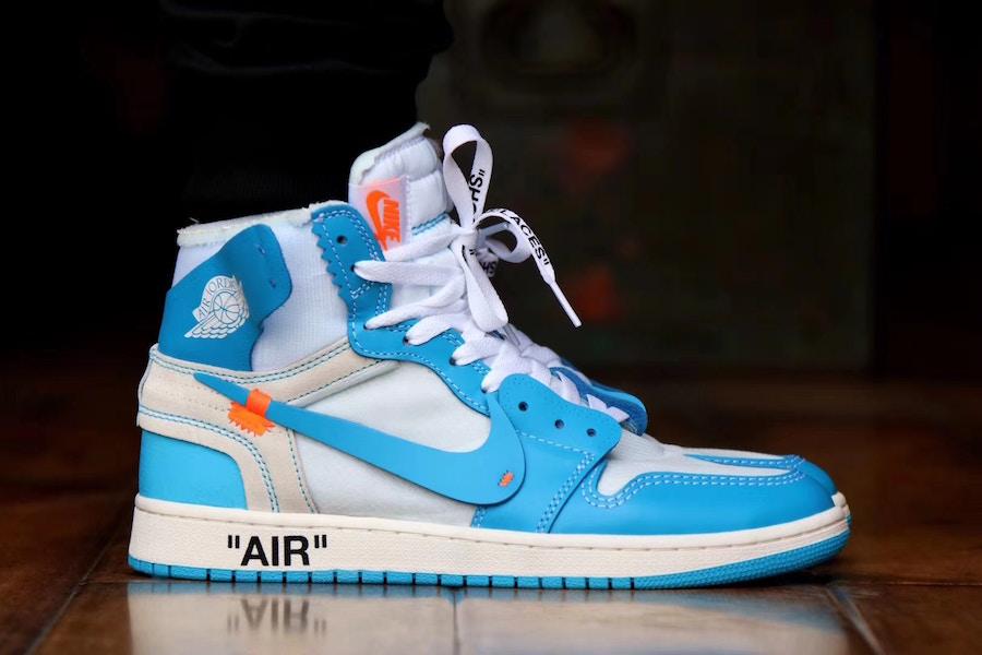 air jordan 1 off white blue release date