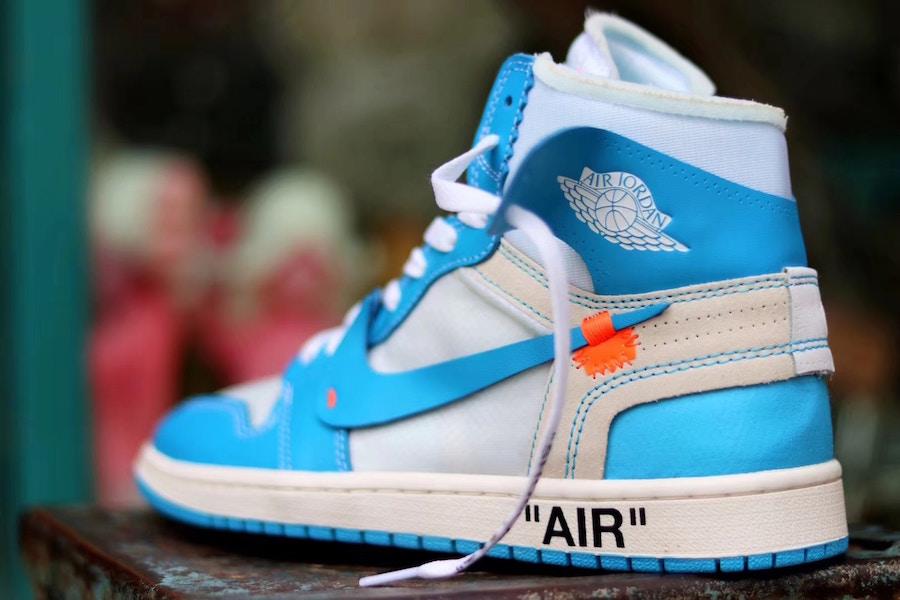 huge selection of babc6 07308 OFF-WHITE x Air Jordan 1 Powder Blue (UNC) • KicksOnFire.com