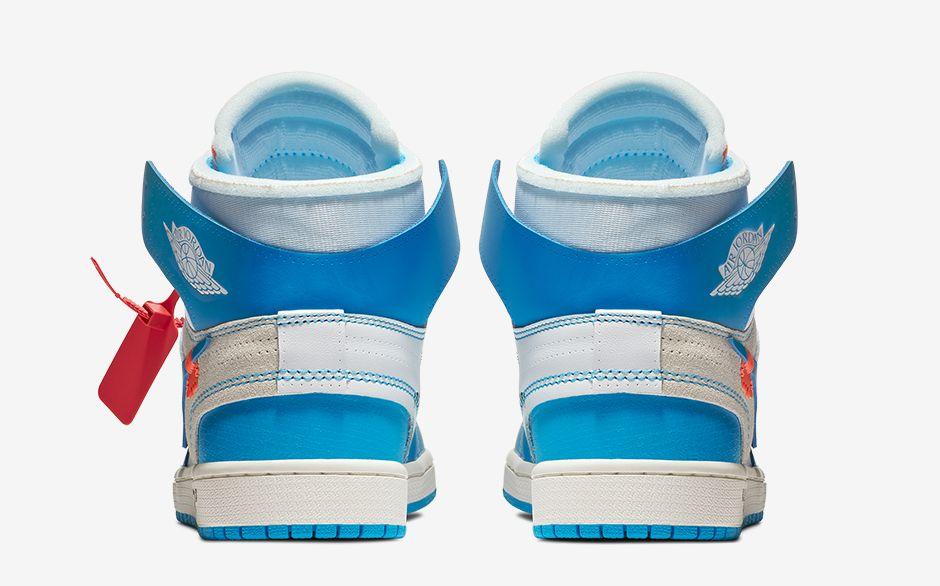 huge selection of 484f4 341f5 OFF-WHITE x Air Jordan 1 Powder Blue (UNC) • KicksOnFire.com