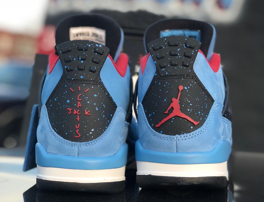 sports shoes 4fe75 b3455 Release Date For The Travis Scott x Air Jordan 4 Cactus Jack ...