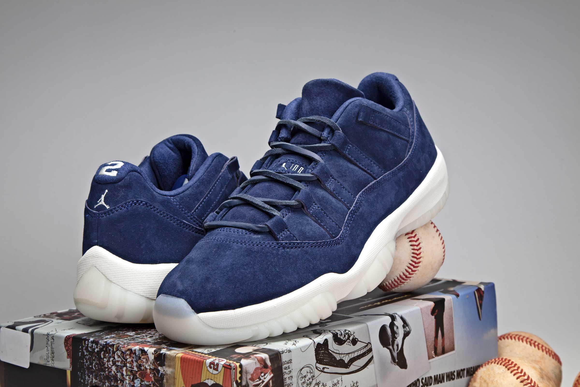 wholesale dealer e61a0 82b86 Air Jordan 11 Low Derek Jeter RE2PECT • KicksOnFire.com