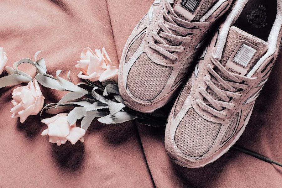 the best attitude a7b7b e6e85 Faded Rose Pink Covers The New Balance 990 • KicksOnFire.com