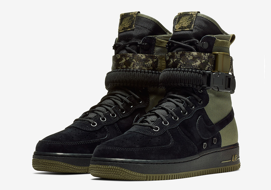 Review | Nike Special Forces Air Force 1 'Black'