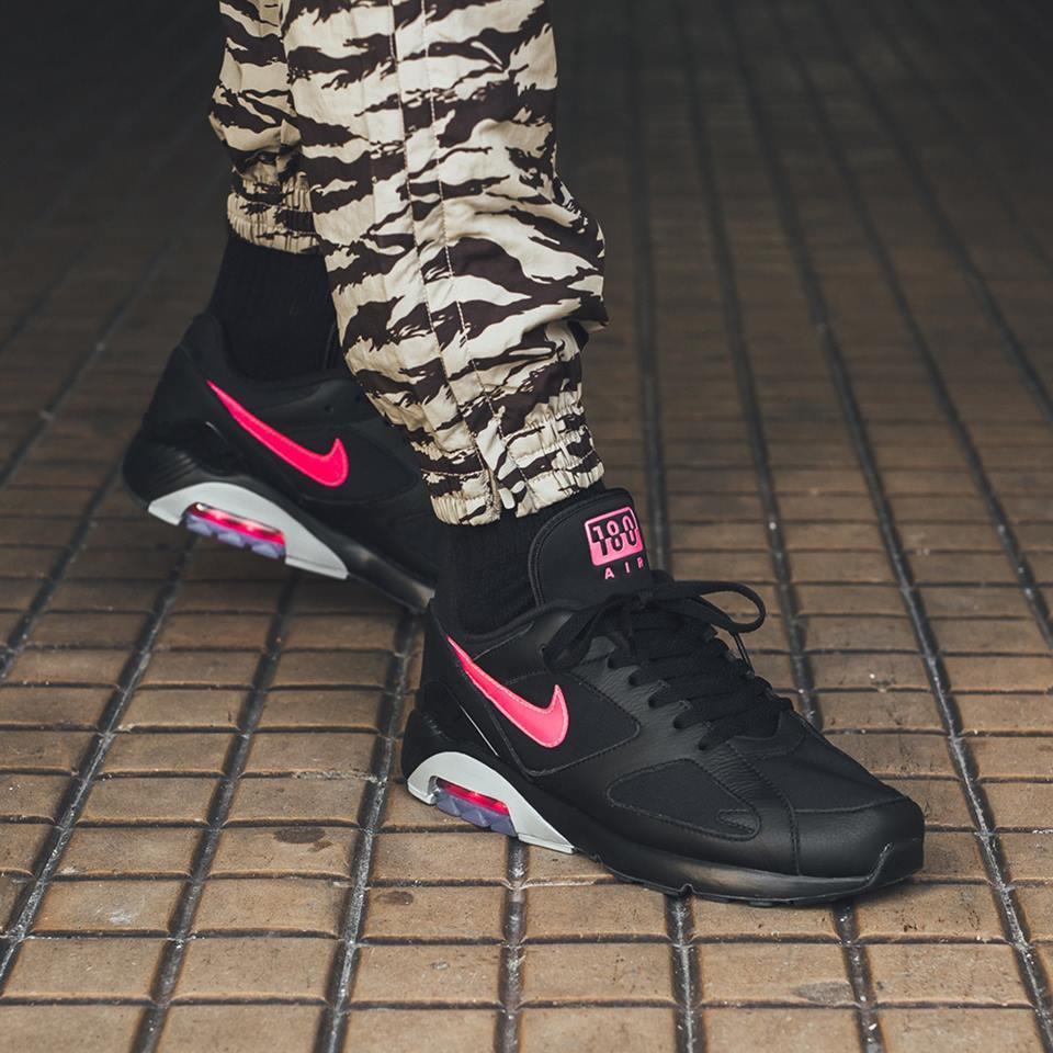 The Nike Air Max 180 Black Pink Blast Shines This Summer