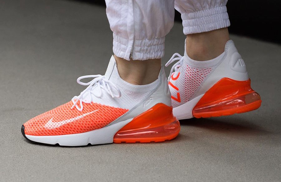 uk availability c426f e69d9 Nike WMNS Air Max 270 Flyknit Crimson Pulse Perfect For ...