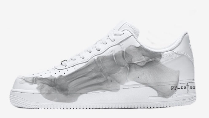 best service 4007d 73a99 Nike Air Force 1 Low QS Skeleton To Release In October ...