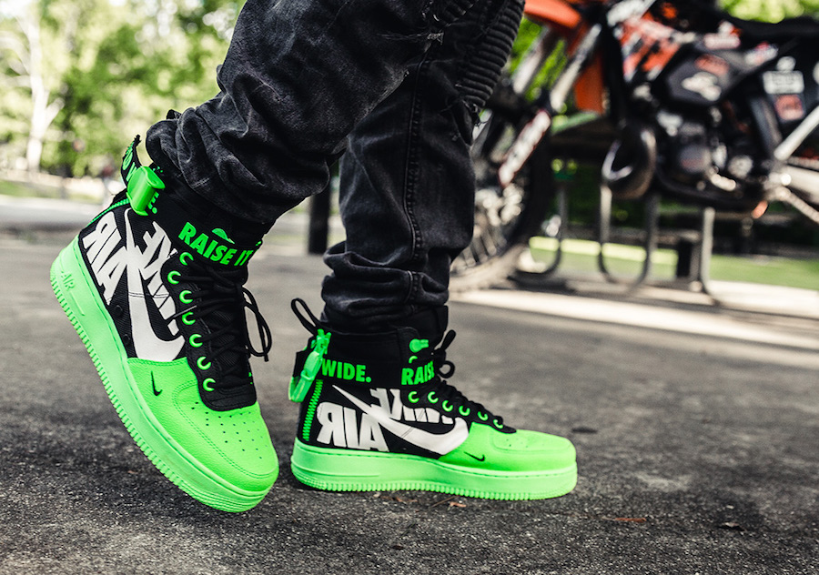 big sale 9b5cc d9c4d More Nike SF-AF1 Mid Colorways Were Made For The 12 'O Clock ...