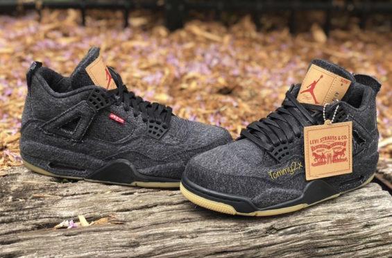 buy popular 6fa10 ab0e9 Levi's x Air Jordan 4 Collection • KicksOnFire.com