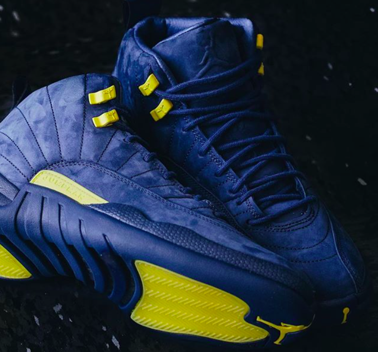 wholesale dealer 763b1 204f1 Air Jordan 12 Michigan • KicksOnFire.com