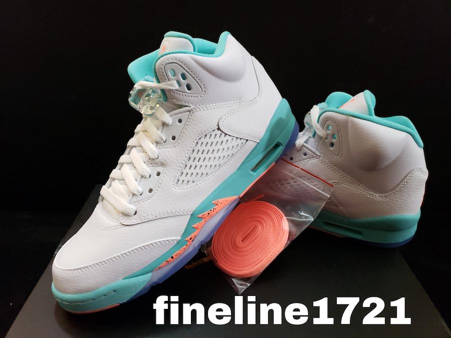 info for 015bf ca1a0 Air Jordan 5 GS Light Aqua • KicksOnFire.com