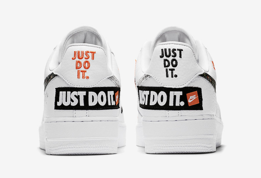 presenting look for sneakers for cheap Official Images: Nike Air Force 1 '07 Premium Just Do It ...