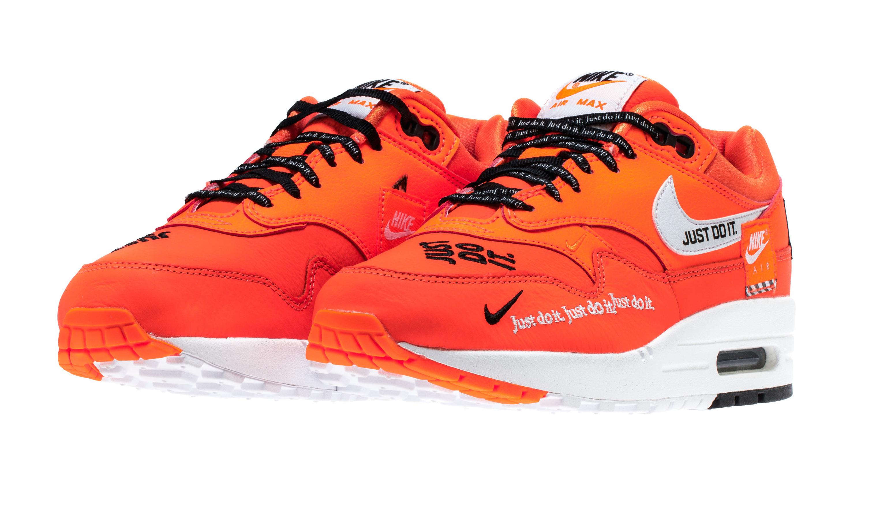 Nike WMNS Air Max 1 Orange Just Do It Arriving Next Week