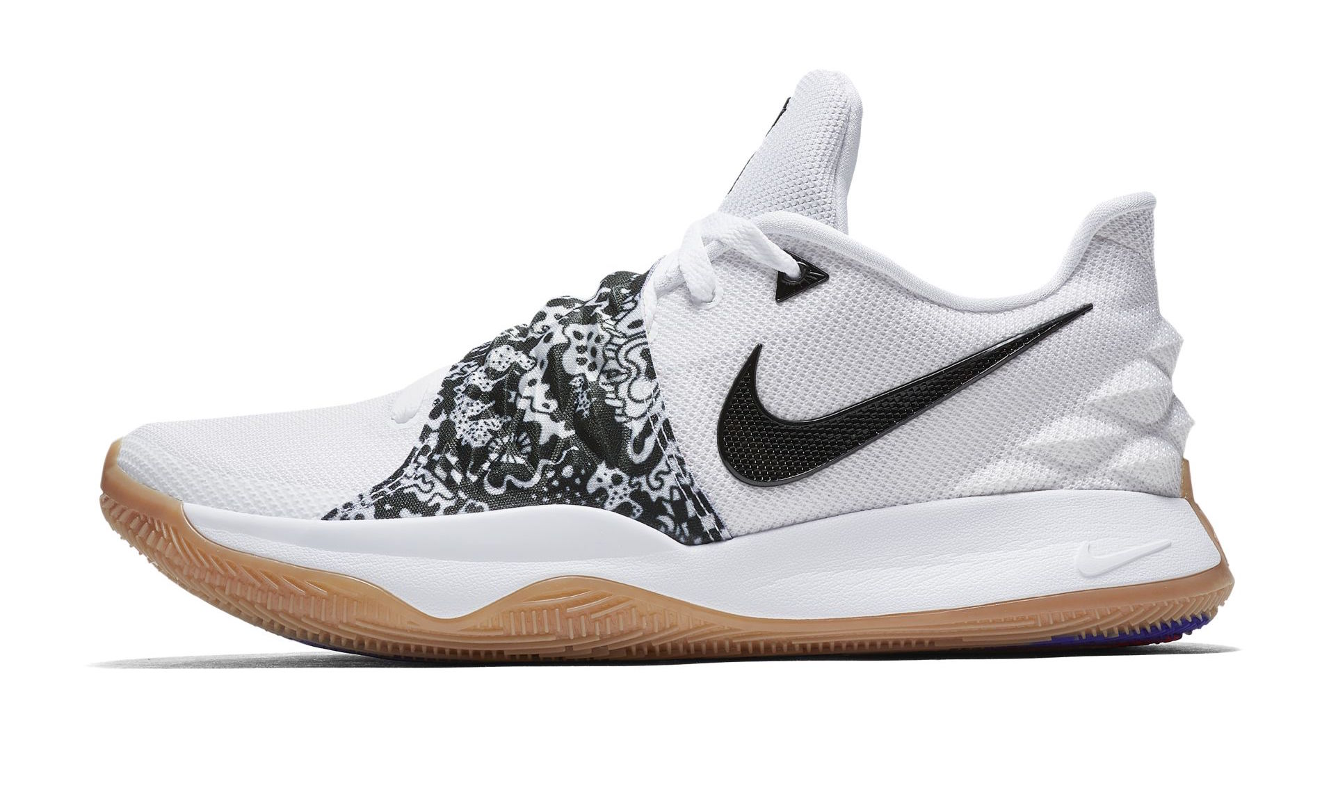 best website 7c661 c080c Official Images: Nike Kyrie 4 Low White Black • KicksOnFire.com