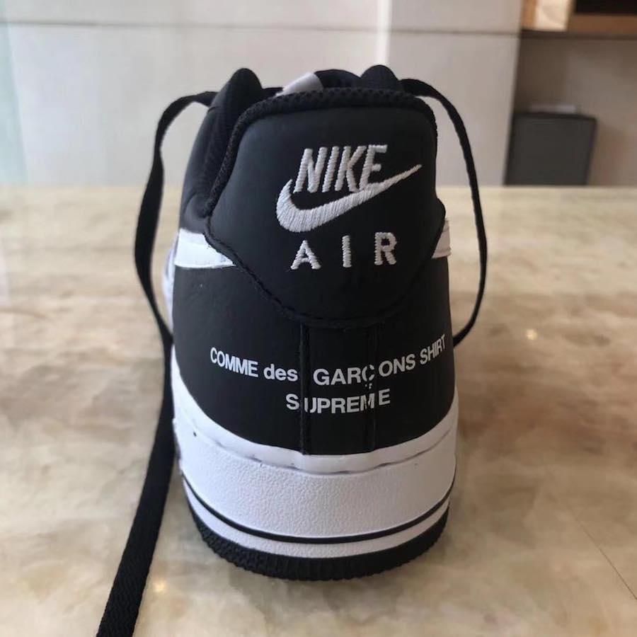Garçons Black X Force Low Des Comme Nike Air LookSupreme First 1 rtsdCQhx