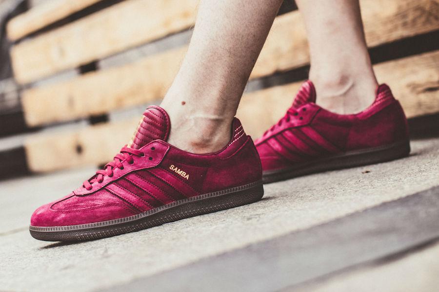 An On-Feet Look At The adidas Samba FB