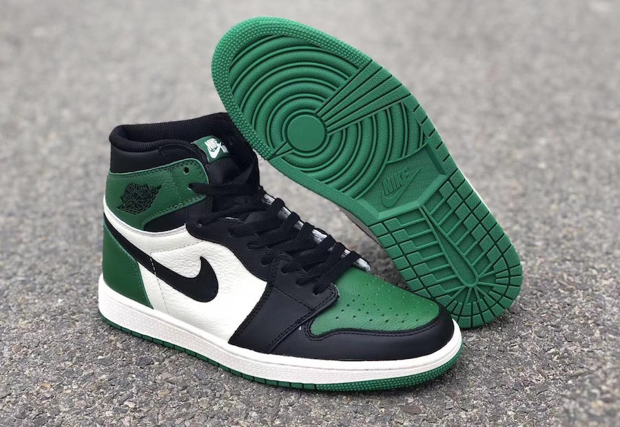 finest selection 9d40c 4f539 New Look At The Air Jordan 1 Retro High OG Pine Green That ...