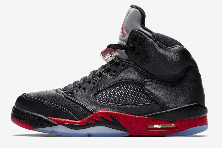 sports shoes 329f0 3d2ec Air Jordan 5 Satin Bred • KicksOnFire.com