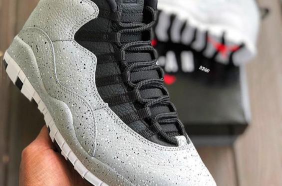 2a68241d8ea Air Jordan 10 Cement • KicksOnFire.com