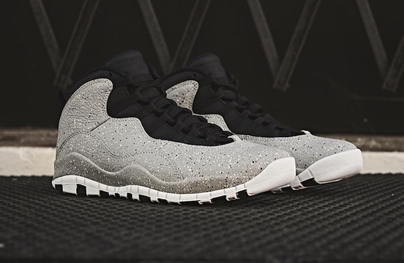 new concept 20d0c 9602b Air Jordan 10 Cement Releasing This Weekend • KicksOnFire.com