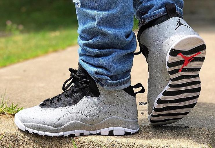 Air Jordan 10 Cement • KicksOnFire.com