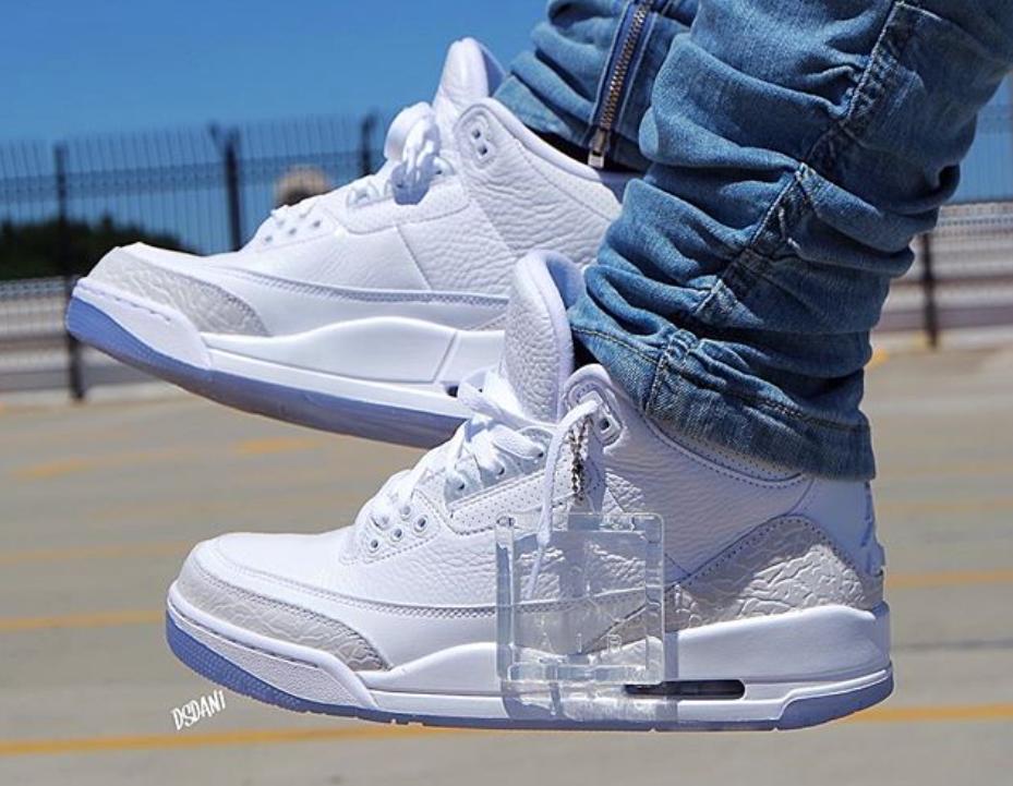 Air Jordan 3 Triple White • KicksOnFire.com
