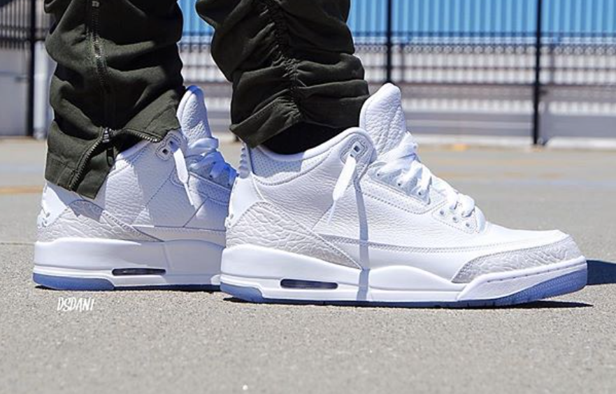 new arrival a4786 f1437 Are You Copping The Air Jordan 3 Triple White This Weekend ...